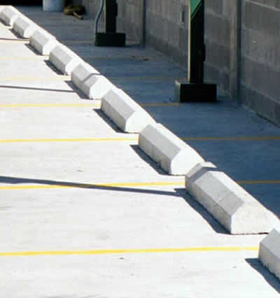 Precast Concrete Car Stops and Bumps in Wisconsin